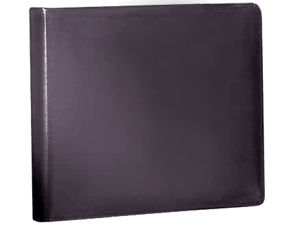 Black Binder (bonded leather) 3 ring