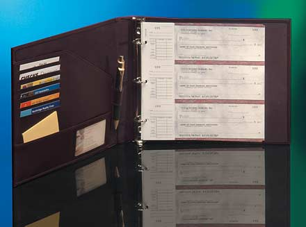 Business Checkbook Binders 7 Ring And Deskset Covers Businesschecks Org