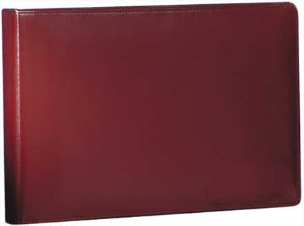 Burgundy Leather Binder - 7 Ring