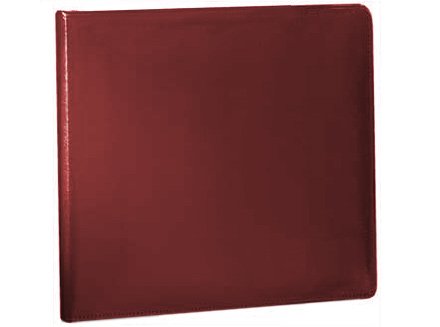 Burgundy Binder (Bonded leather) 3 Ring