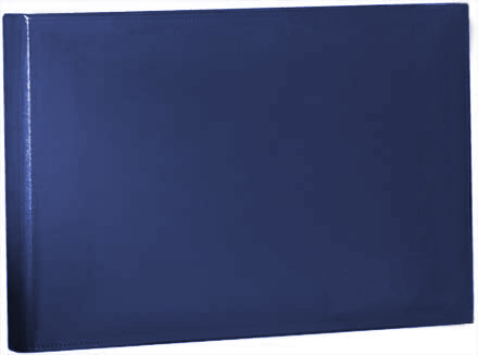 Blue Vinyl Coated Binder - 7 Ring