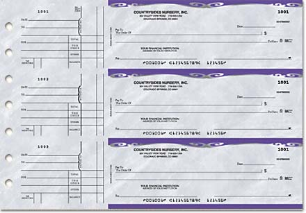 Platinum General Purpose 3-on-a-Page Checks Duplicates