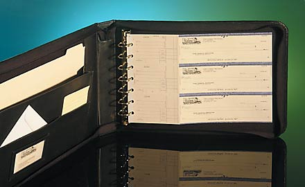 Business Checkbook Binders 7 Ring Binders And Deskset Covers