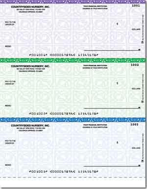 Voucher Check Template | Laser Checks No Lines Voucher Checks Unlimited Business