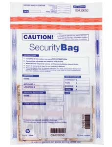 Click On Single Pocket Clear Security Bag Image To See Enlarged Version
