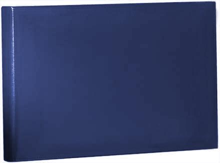 Blue Vinyl Coated Binder, 7 Ring