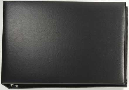 Black Binder � vinyl   7 ring