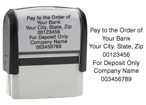 Endorsement Stamp  Self Inking