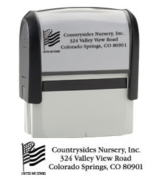 Flag Return Address Stamp